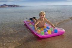 Der junge Schwimmer Lizenzfreie Stockfotografie