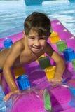 Der junge Schwimmer Stockbilder
