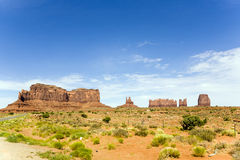 Der König auf seinem Thron ist eine riesige Sandsteinformation im Montag Stockbilder