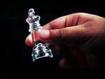 Der König in der Hand Stockfotografie