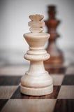 Der König des Schachs Lizenzfreies Stockbild