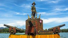 Der König von thonburi Statue lizenzfreies stockfoto