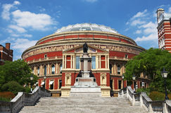 Der königliche Albert Hall in London Lizenzfreies Stockfoto