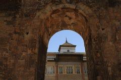 Der königliche Alcazar von Sevilla, alte Architektur, Spanien Lizenzfreie Stockfotos