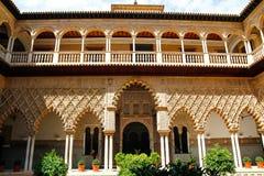 Der königliche Alcazar von Sevilla, Spanien Lizenzfreie Stockbilder