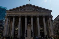 Der königliche Austausch in London lizenzfreies stockbild
