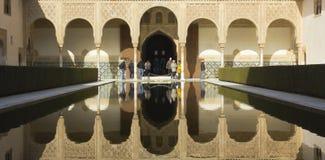 Der königliche Komplex von Alhambra Lizenzfreie Stockbilder