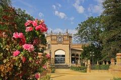 Der königliche Pavillon von Maria Luisa Park in Sevilla Stockfoto