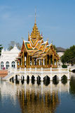 Der königliche Sommer-Palast in Knall-PA innen, Thailand Stockbild
