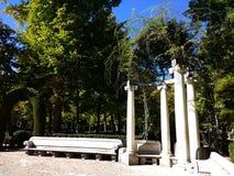 Der königliche Standort von San Lorenzo de El Escorial stockfotos