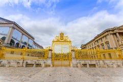 Der königliche Zaun, im Jahre 2009 wieder hergestellt, Versailles Stockbild