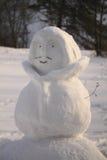 Der Körper des Schneemannes stockfotos