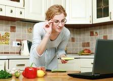 In der Küche Lizenzfreies Stockfoto