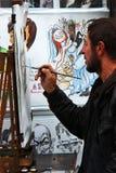 Der Künstler Stockfotos