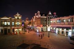 Der Kai des Macau-Fischers Lizenzfreies Stockbild
