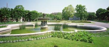 Der Kaisergarten in Wien Lizenzfreies Stockbild