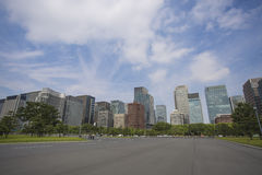Der Kaiserpalast-Park, Tokyo, Japan Lizenzfreie Stockfotos