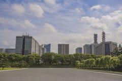 Der Kaiserpalast-Park, Tokyo, Japan Lizenzfreie Stockbilder