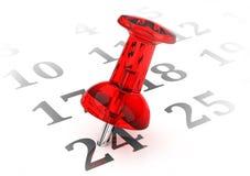 Der Kalender Lizenzfreies Stockbild