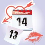 Der Kalender Stockbild