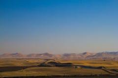 Der Kalifornien-Aquädukt Lizenzfreie Stockfotografie