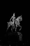 Der Kalvarienberg in der Nacht Lizenzfreies Stockfoto