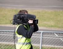 Der Kamera-Mann Stockfotografie
