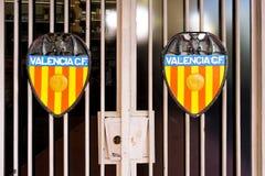 Der Kamm von Valencia Football Club lizenzfreies stockbild