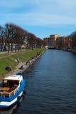 Der Kanal Stockbild