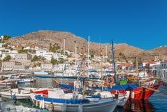 Der Kanal der Hydras, Griechenland Lizenzfreie Stockfotografie