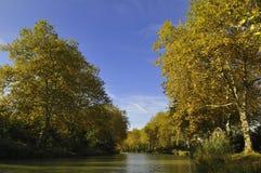 Der Kanal DU Midi stockfotografie