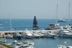 Der Kanal von Monaco während des großartigen Prix 2009 Stockfoto