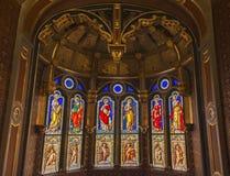 In der Kapelle Stockbilder