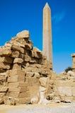 Der Karnak Tempel, Ägypten Stockfotos