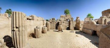 Der Karnak Tempel-Komplex, Luxor, Ägypten. stockfotografie