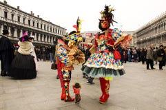 Der Karneval von Venedig Stockbilder