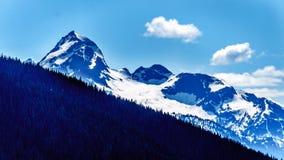 Der Kaskaden-Gebirgszug in BC Kanada stockfotografie