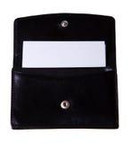 Der Kasten für die Visitenkarten (getrennt) Lizenzfreies Stockfoto