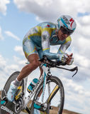 Der kazakh-Radfahrer Fofonov Dmitriy Lizenzfreie Stockfotografie