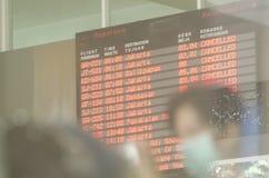 DER KELUD-ERUPTIONS-EFFEKT Lizenzfreies Stockfoto