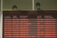 DER KELUD-ERUPTIONS-EFFEKT Lizenzfreie Stockfotografie