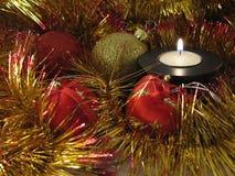 In der Kerze-Leuchte lizenzfreies stockfoto