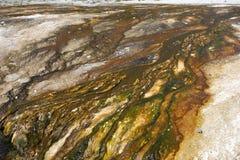 Der Kessel an Yellowstone-Park Stockfotografie
