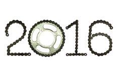 2016 der Kette Lizenzfreies Stockfoto