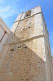 Der Kirchturm von Madre di Sant'Elia Stockbilder