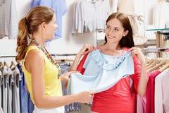 In der Kleidungsabteilung Lizenzfreie Stockfotos