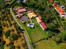 Der kleine Bauernhof im combia Kolumbien lizenzfreie stockbilder