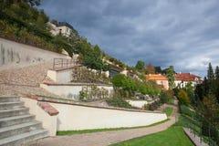 Der kleine FÃ-¼ rstenberg Garten Stockfotografie