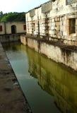 Der kleine Graben von manora Fort mit Hallenfenstern Lizenzfreies Stockbild