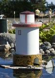 Der kleine Leuchtturm Stockbilder